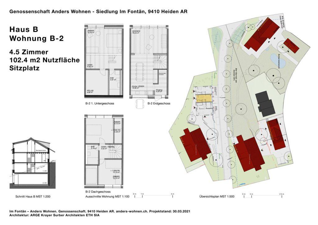 AW Wohnung B-2 - 4.5 Zi - 102.4m2